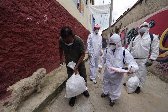 Coronavirus.- Colombia se acerca a los 100.000 casos tras una subida del 33 por