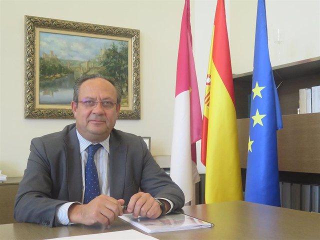 El consejero de Hacienda y Administraciones Públicas de C-LM, Juan Alfonso Ruiz Molina.