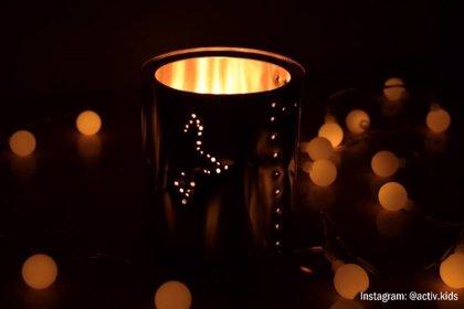 Lámpara quitamiedos: manualidades educativas para niños