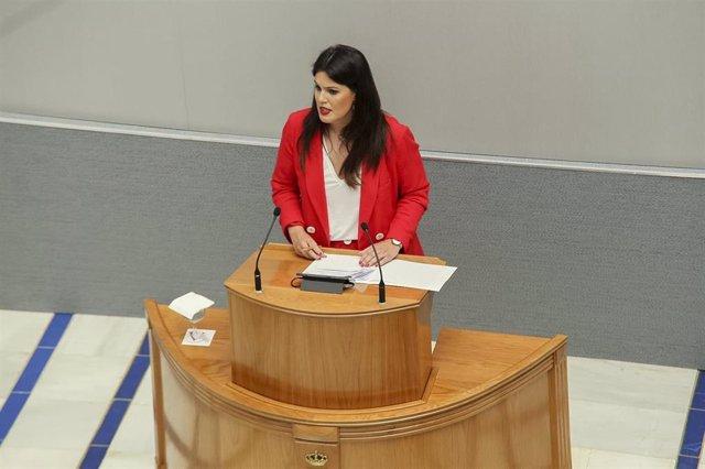 Imagen de miriam Guardiola, en la Asamblea