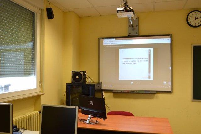 Aulas digitalizadas de la UCAV