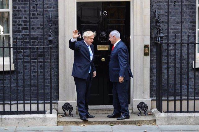 Boris Johnson y Benjamin Netanyahu
