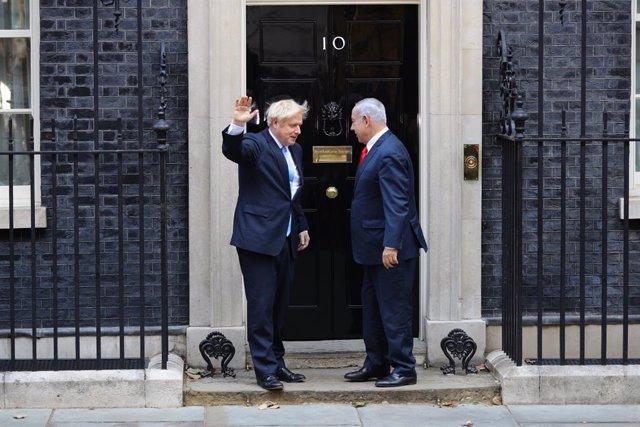 """O.Próximo.- Boris Johnson pide a Israel, """"como amigo"""", que no consume la anexión"""