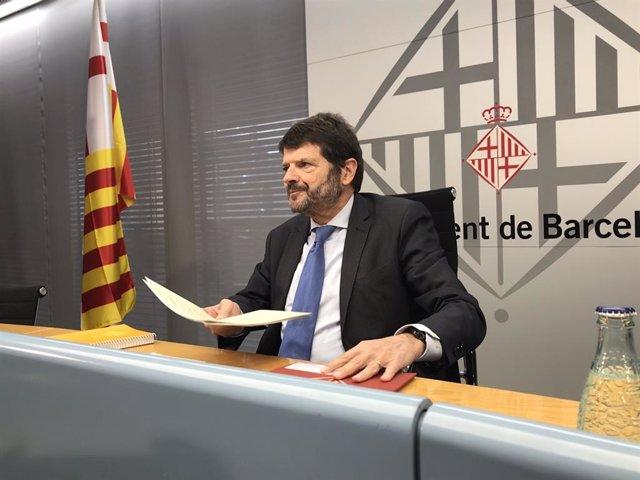 El tinent d'alcalde de Seguretat de Barcelona, Albert Batlle.