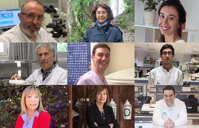 Investigadores de UPV/EHU que han desarrollado dispositivo biomédico
