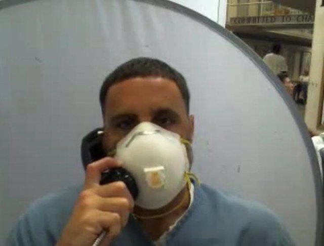 Pablo Ibar en la prisión de Okeechobe (EEUU)