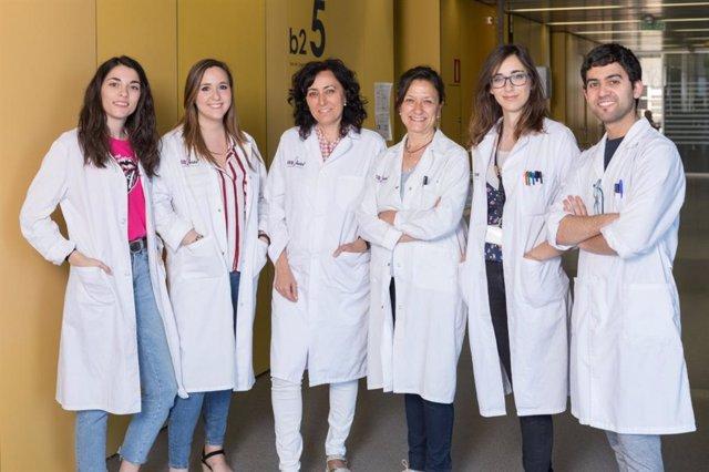 Grupo de investigación de la unidad de señalización neuronal del Instituto de Investigación Biomédica de Lleida