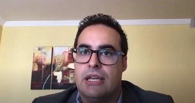 El diputado regional de Ciudadanos, Alberto Reyes