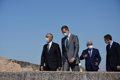 España y Portugal reabren su frontera con himnos y aplausos de los jefes de Estado y Gobierno