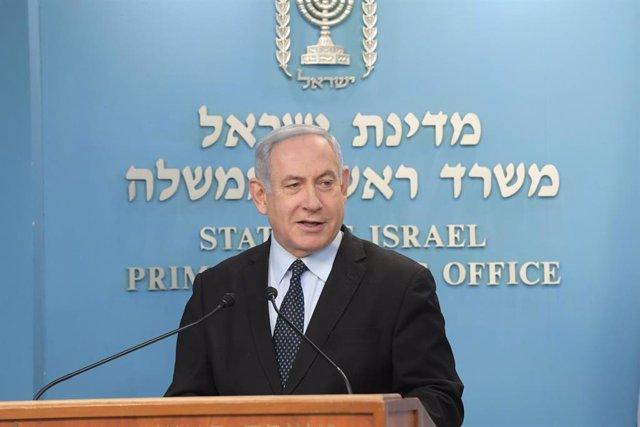 Primer ministro de Israel, Banjamín Netanyahu