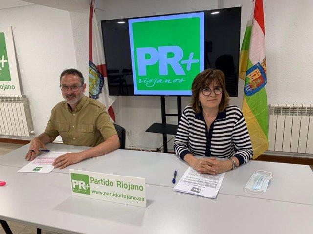 Rueda de prensa del PR+