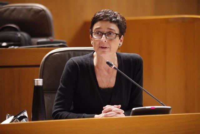 La diputada del PP, Ana Marín.