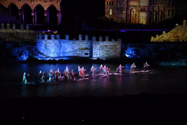 Acto inaugural del parque Puy du Fou España con 'El sueño de Toledo'.