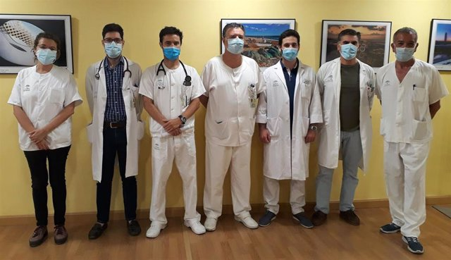 Profesionales del Hospital Universitario de Valme de Sevilla