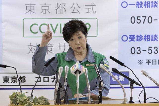 Coronavirus.- Tokio mantiene su tendencia al alza y registra su mayor dato de co