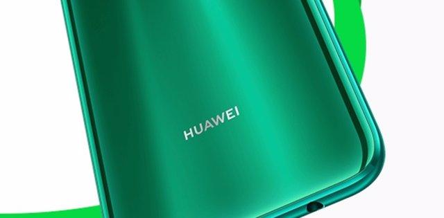 Logo Huawei en P40 Lite