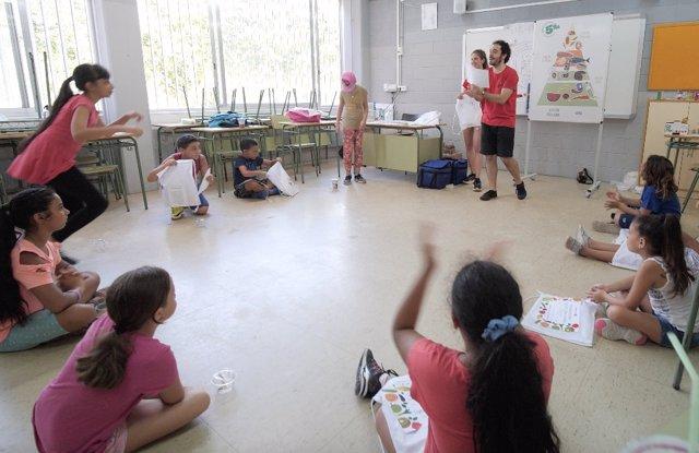 Mercabarna enseñará a 500 niños a comer sano en las escuelas de verano
