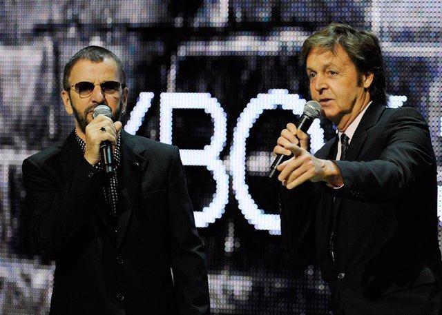 Paul McCartney y Ringo Starr