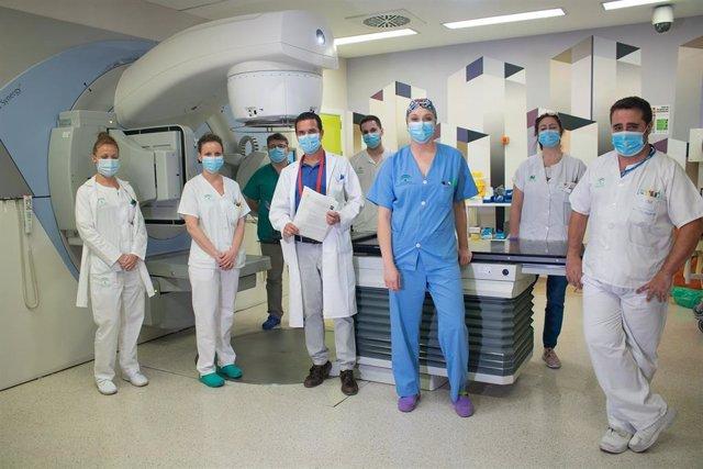 [L Mmcc.Huvmr.Sspa] El Hospital Virgen Del Rocío Lidera Una Propuesta Internacional Para Optimizar El Tratamiento De Radioterapia En Cáncer De Pulmón Durante Una Pandemia