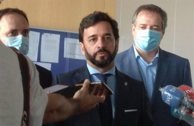 El viceconsejero de Turismo, Regeneración, Justicia y Administración Local de la Junta de Andalucía, Manuel Alejandro Cardenete