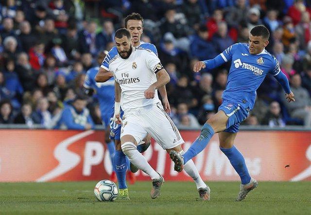 Fútbol/Primera.- Previa del Real Madrid - Getafe