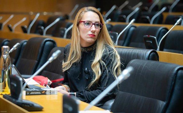 La diputada de Vox Patricia de las Heras.