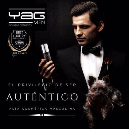 COMUNICADO: La marca española YAG MEN premiada como mejor cosmética masculina de lujo 2020
