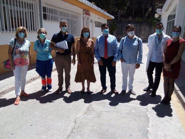 Visita al centro de salud de Cazorla