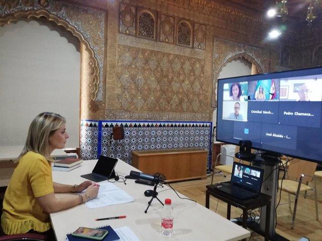La delegada de la Junta en Almería inaugura un curso online