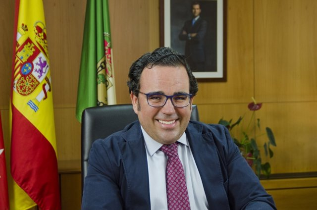 Imagen de archivo del alcalde de Boadilla del Monte, Javier Úbeda.