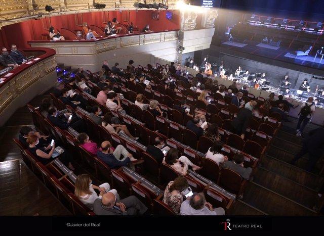 Estreno de 'La Traviata' en el Teatro Real