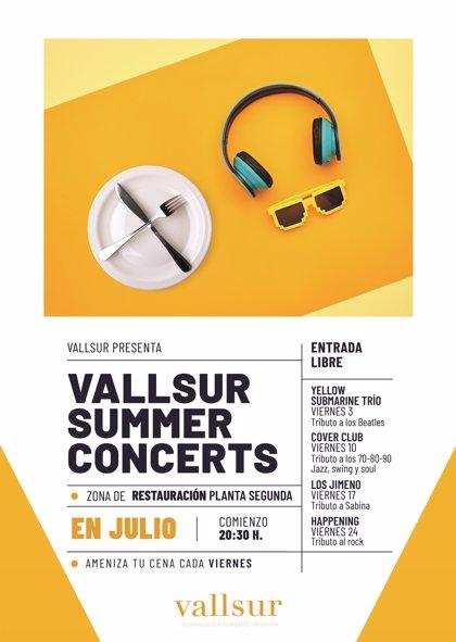 COMUNICADO: La música vallisoletana amenizará las cenas en Vallsur durante los viernes de julio