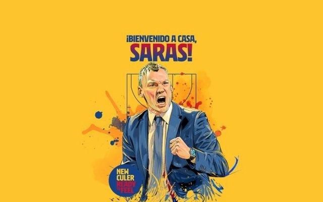Sarunas Jasikevicius, nuevo entrenador del Barça hasta 2023
