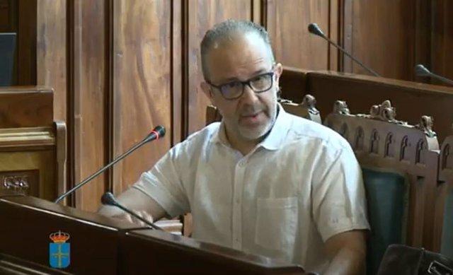 El coordinador de la Estrategia de Atención Primaria del Principado de Asturias, Pablo Pérez Solís.