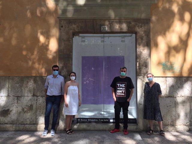 Presentación de 'I no tota', de M. Reme Silvestre, en el Casal Solleric.