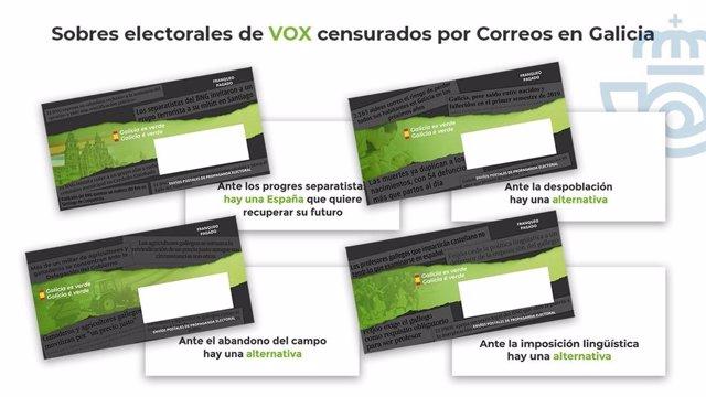 Sobres de Vox