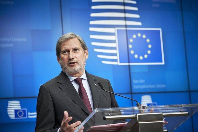 El comisario de Presupuestos, Johannes Hahn