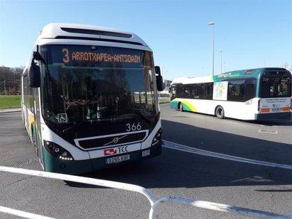 El sábado se implanta el horario de verano en el transporte urbano comarcal