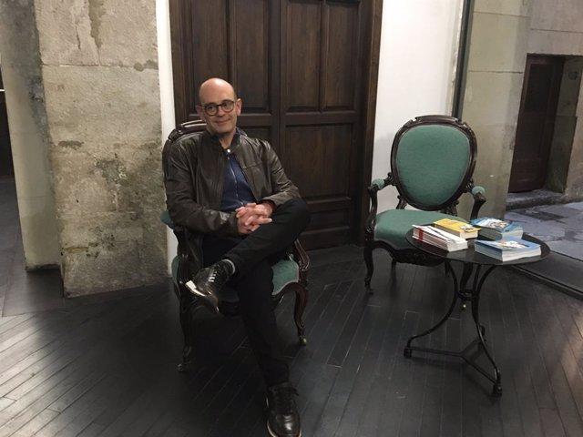L'escriptor Sebastià Alzamora