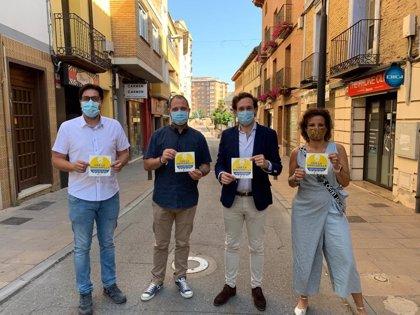 El Ayuntamiento de Monzón y el sector comercial se unen para concienciar sobre el uso de las mascarillas