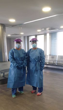 Profesionales sanitarios del Hospital Macarena