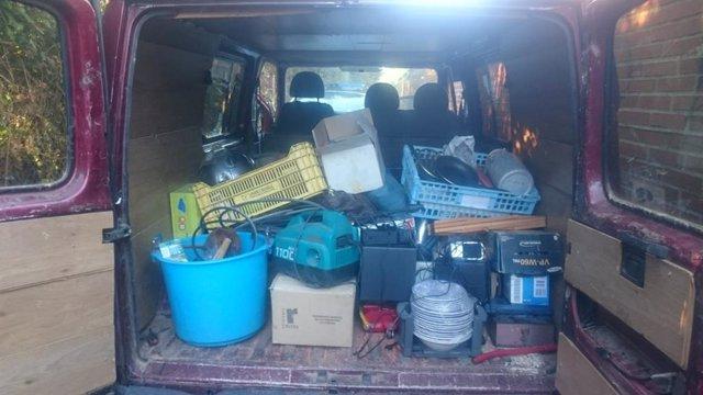 Objetos robados en la vivienda de Salamanca.