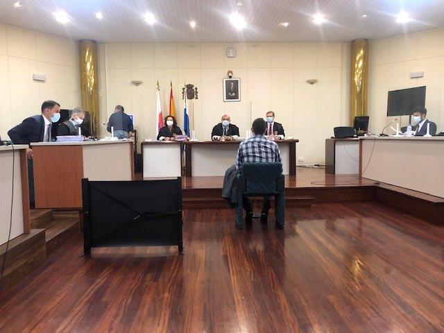 El acusado declara en el juicio