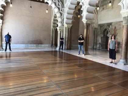 Cuatro realizadores aragoneses reinician el ciclo 'La Aljafería, un lugar de cine', que se mostrará en otoño