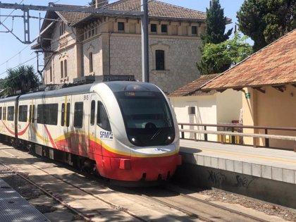 Las frecuencias entre Palma y Manacor aumentarán gracias a la construcción de puntos de adelanto en la vía de tren