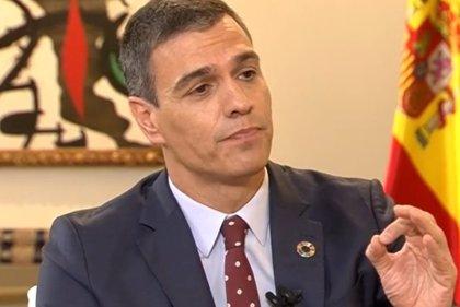 Sánchez rechaza recortar pensiones y sueldos públicos y anima a reincorporar a trabajadores en ERTE
