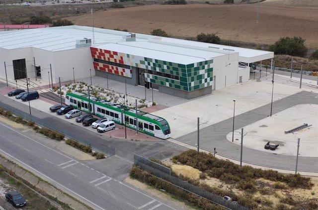 Cocheras del tranvía de la Bahía de Cádiz