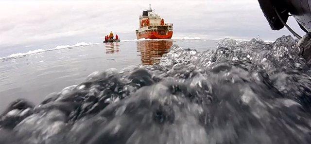 Científicos españoles predicen la emisión de isopreno en el océano Antártico, ga