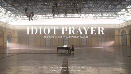 Nick Cave retransmitirá un concierto especial desde el Alexandra Palace de Londres