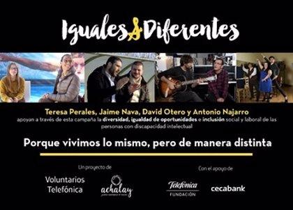 Una campaña conciencia sobre las aspiraciones laborales de 273.000 personas con discapacidad intelectual en España